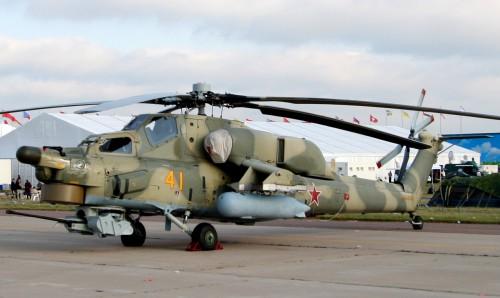 Mi-28N, Havoc at at MAKS09, Zhukovsky airfield - Photo from Flickr by José Luis Celada Euba. Source: https://www.flickr.com/photos/carlos346/3861848788/