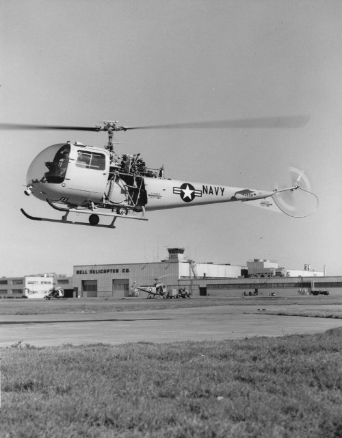 A variant of the Bell 47 / UH-13R Sioux, HUL-1M was the designation provided by the US Navy. It was fitted with a 250shp Allison YT-62-A-3 turboshaft engine. Two were built and redesignated as UH-13R in 1962. Vertiflite, January/February 1974