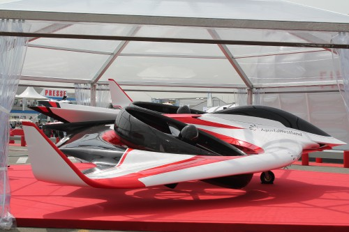 DIsplayed at the 50th International Paris Air Show July 17-23, 2013  Image by Ian V. Frain for AHS International (no modification to original image) (Image provided under Creative CommonsAttribution-ShareAlike 4.0 International/CC BY-SA 4.0 license)