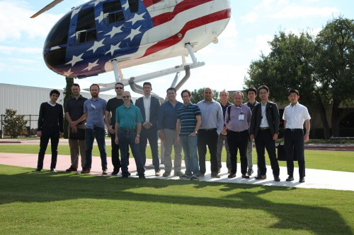 On Friday, May 12, 2017, about 50 Forum 73 attendees took tours of Airbus Helicopters, Inc., Safran Helicopters Engines USA, and Safran Electronics & Defense USA. All three companies are in adjacent facilities in Grand Prairie, Texas. (Photo courtesy of Safran USA.)