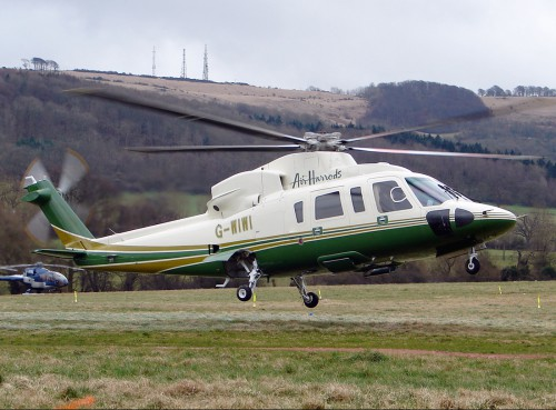 Photographed at Cheltenham Racecourse Heliport (EGBC) , United Kingdom 13 March, 2009 Source: Photo from Planespotters.net, courtesy of Robert Beaver