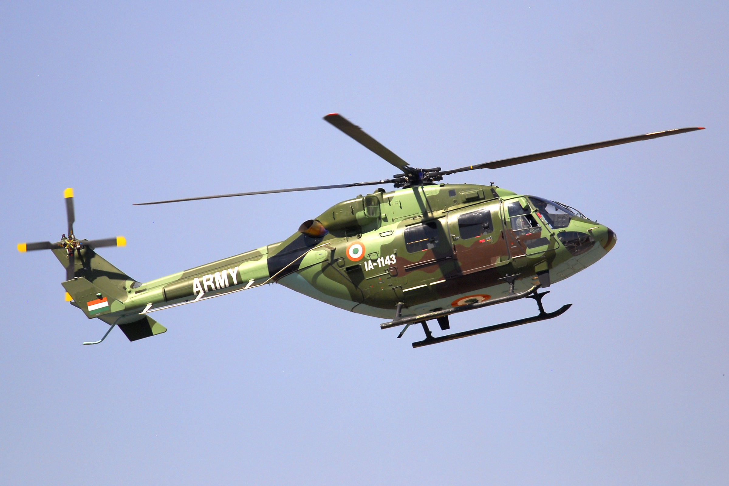 Indian Army's HAL ALH Dhruv Mark III - Vertical Flight Photo Gallery