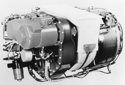 The Avro Lycoming LTS-101 turboshaft engine (T702 in US military designation) is currently produced by Honeywell. It is used in several helicopters and fixed-wing aircraft. From Vertiflite, November/December 1976 (page 44).