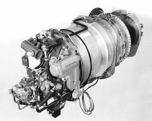 The Pratt & Whitney PT6B-34 (US military designation T74 or T101) is a popular turboprop aircraft engine, used in many fixed-wing aircraft and helicopters. From Vertiflite, November/December 1976 (page 47).