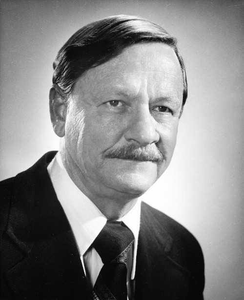 John Kerr has worked for Hughes Helicopters for 43 years. As director of the Hughes Military Helicopter division, Kerr has full responsibility for the company's AAH Program.Kerr joined Hughes helicopter in 1966 and by the year-end was advanced to director-LOH Program. He was appointed to his present post in Oct., 1971and is responsible for management, engineering, experimental fabrication, and marketing,  From Vertiflite, July/August 1975.
