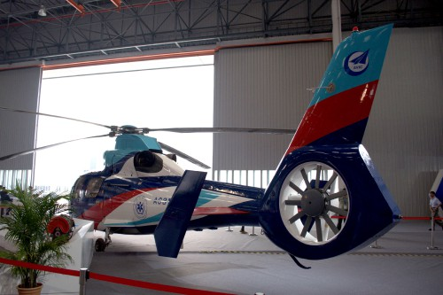 Taken at the 2013 2nd China Helicopter Exposition by Mike Hirschberg, AHS International. All rights reserved.