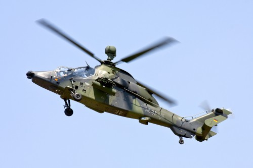 Eurocopter EC665 Tiger UHT of the Heeresflieger (German Army Aviation Corps) - Photo from Flickr by Rob Schleiffert (no modification to original image) (image provided under the terms of Creative Commons Attribution-NonCommercial 2.0 Generic/CC BY-NC 2.0 license) Source: https://flic.kr/p/qAfMyC
