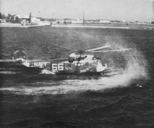 TBA Source: https://commons.wikimedia.org/wiki/File%3ASH-3A_HS-1_water_landing_NAN_8-64.jpg