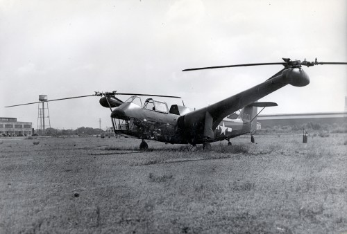 First flown on Monday, June 23, 1941.  The XR-1 is the first prototype of Platt-LePage and had been awarded a contract with the US Army in July 1940; however, the project was canceled.  Presented with the second prototype, the XR-1A, at the First Annual Dinner of the American Helicopter Society, Inc. in 1944 by W. Laurence LePage and Haviland H. Platt.
