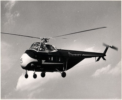 The multirole S-55 in flight. Source: https://vtol.org/store/department/vertiflite-1961-879.cfm