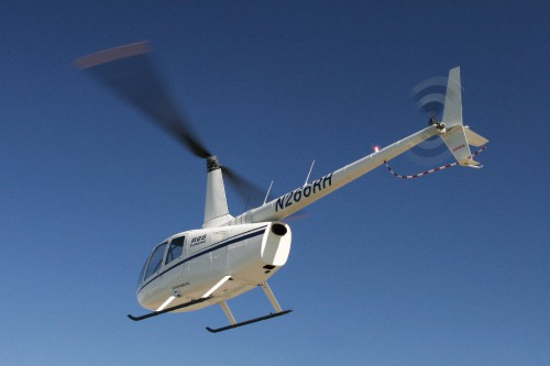 Robinson R66 turbine.  Photo taken and provided by Robinson Helicopter Company. Source: https://robinsonheli.com/