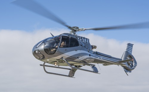 Now designated H130 with the change in the Airbus Helicopters designation system.  Photo Courtesy of Jay Miller