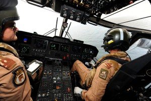 Aircrew-Onboard-Royal-Navy-Merlin-Helicopter