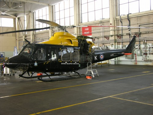 Bell Griffin HT.1 (ZJ708) of RAF 60 Sqdn., Defence Helicopter School - Photo from Flickr by Jerry Gunner (no modification to original image) (image provided under the terms of Creative Commons Attribution 2.0 Generic/CC BY 2.0 license)  Source: https://flic.kr/p/68BHpR