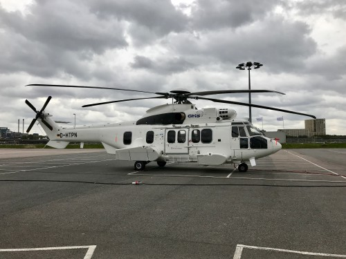 Photo taken at Helitech 2017 - Image donated to AHS International (no modifications to original image) (image provided under the terms of Creative Commons Attribution-ShareAlike 4.0 International)