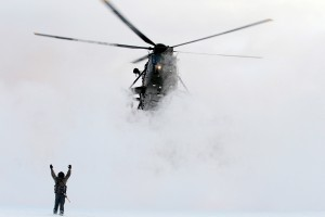 Royal-Navy-Sea-King-Landing-in-Norway