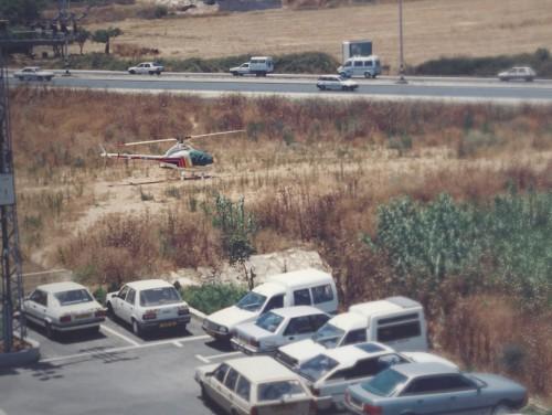 _Helicopter-1995-Rotorway-Exec-90-Parked-outside-office-year-1995_Photo-Urban-Aeronautics.jpg