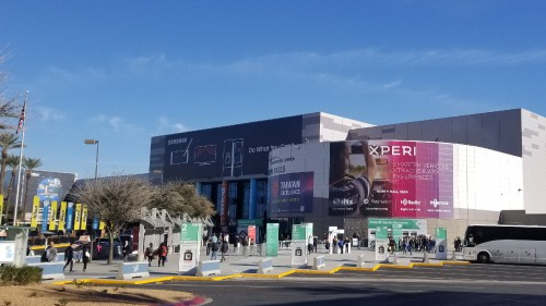 Las Vegas Convention Center Exhibit Hall South at the CES2018 Exhibition in Las Vegas, NV, Jan. 11, 2018. AHS photo.