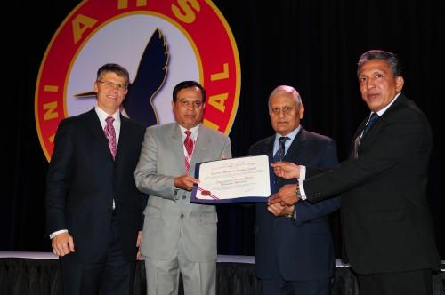 Forum 70, 2014 Awards ceremony and Captain William J. Kossler award won by Uttarakhand Rescue team.