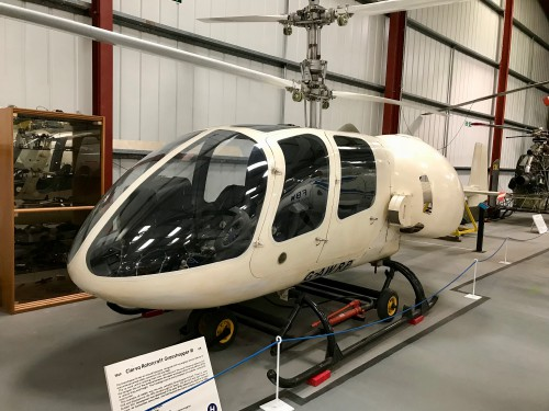 Photo taken at The Helicopter Museum, Weston-Super-Mare, UK.  Image donated to AHS International (image provided under the terms Creative Commons license Attribution-ShareAlike 4.0 International (CC BY-SA 4.0))