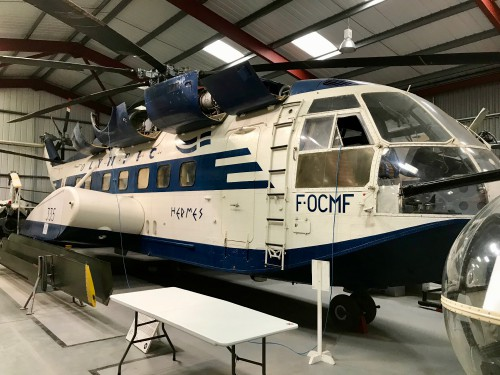 Photo taken at The Helicopter Museum, Weston-Super-Mare, UK. This aircraft was the commercial airliner prototype.  Image donated to AHS International (image provided under the terms Creative Commons license Attribution-ShareAlike 4.0 International (CC BY-SA 4.0))