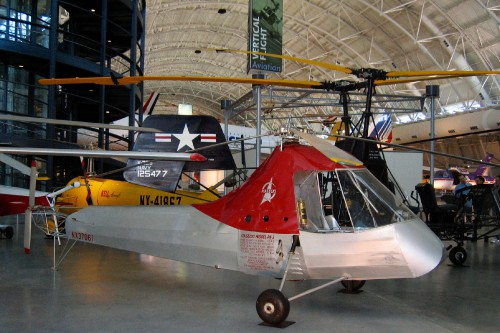 Photo taken at the National Air and Space Museum, Udvar-Hazy Center, Chantilly, VA.  Image donated to AHS International (image provided under the terms Creative Commons license Attribution-ShareAlike 4.0 International (CC BY-SA 4.0))