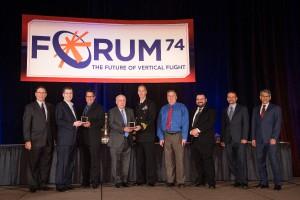 ONR-Aurora-AACUS-Team-receive-the-Howard-Hughes-Award-coins