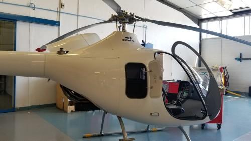 A newly built Cabri G2 between flight tests. VFS photo taken June 22, 2018 at Aix-en-Provence Aerodrome, France. CC-BY-SA 3.0.