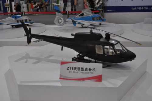Avicopter model of Z-11. VFS Photo.