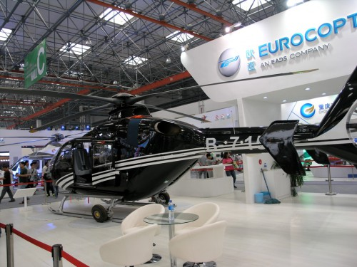 Eurocopter EC135. VFS Photo.