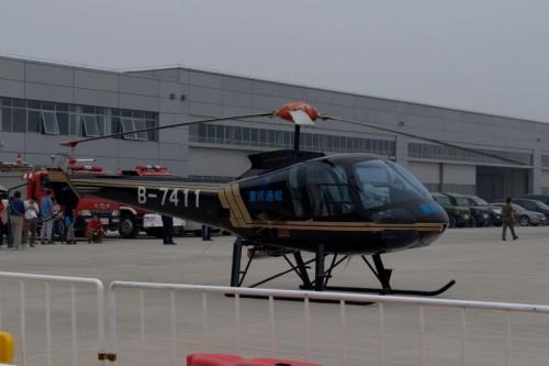 Enstrom 480B flightline. VFS Photo.