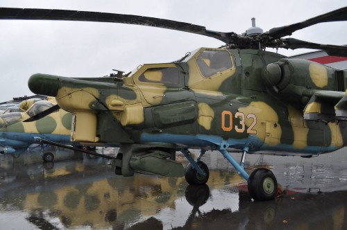 MI-28 — in Moscow, Moscow City, Russia. VFS Photo.