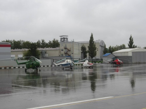 Mil static displays (4), Mil plant, Moscow  — in Moscow, Moscow City, Russia. VFS Photo.