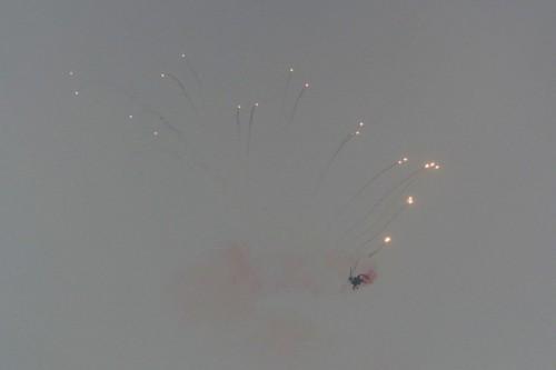 Z-10 flares. VFS Photo.