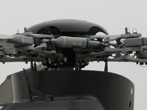Z-10 rotorhead up close. VFS Photo.