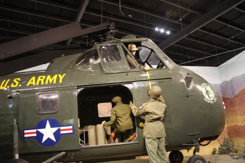 Army Museum - Sikorsky H-19 Chickasaw. VFS Photo.