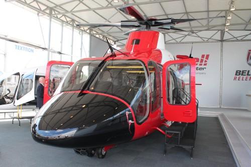 Bell 525 cockpit. Photo by Ian Frain.