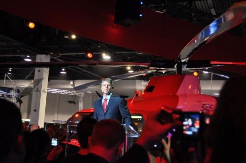 Bell CEO John Garrison. VFS Photo.