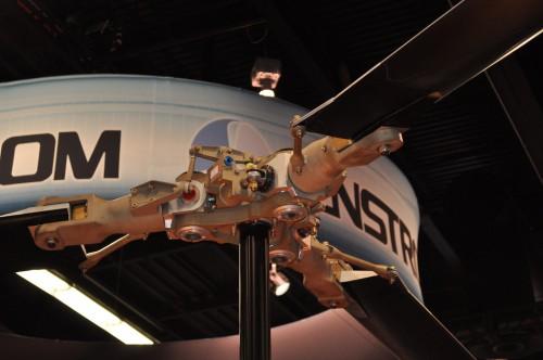 Enstrom rotor system. VFS Photo.