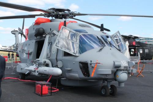 Italian Navy NH90. Photo by Ian Frain.