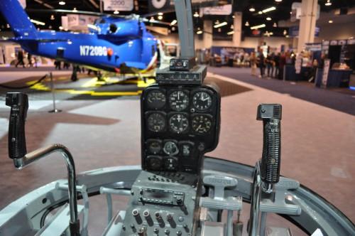Sikorsky S-52 cockpit. VFS Photo.