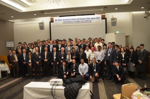 This year's Asian-Australian Rotorcraft Forum/Heli-Japan 2017 was held in Kanazawa, Japan on November 7-9, 2017. Presentations were given on topics related to advanced rotorcraft technology and safety operations.
