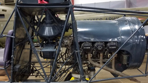 This is the production version with the reciprocating Lycoming engine.  Photo by AHS International (Mike Hirschberg) (image released under the terms of Creative Commons license Attribution-ShareAlike 2.0 Generic - CC BY-SA 2.0)