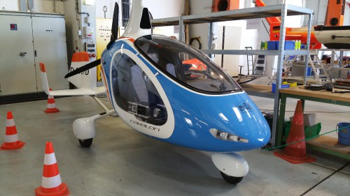 GTD stands for Gyroplane Technology Demonstrator. Photo taken during AHS site visit to the DLR (German Aerospace Center) at Braunschweig in June 2015.  Photo by AHS International (Mike Hirschberg) (image released under the terms of Creative Commons license Attribution-ShareAlike 2.0 Generic - CC BY-SA 2.0)