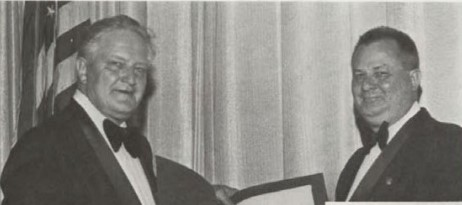 Honorary Fellows Award 1976, at Forum-32 awarded to Mr. Harry M. Lounsbury for his contributions to Society.