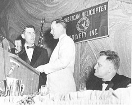 Mr. John O. Emmerson, vice President- Engineering, Kaman Aircraft Corporation, was awarded Honorary Fellows award in 1960 at annual Forum-16 event.