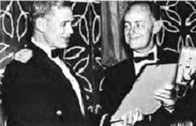 Honorary Fellowship awarded to LTG Hamilton H. Howze, US Army at annual Forum-18, 1962.