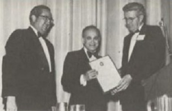 At Forum 34, 1978,  Honorary Fellowship awarded to Dr. Alfred Gessow, NASA Headquarters, for his outstanding rotary-wing contributions including inspirational teaching and writing, applying computer technology to rotor blade aerodynamics, and leadership in helicopter airfoil development.