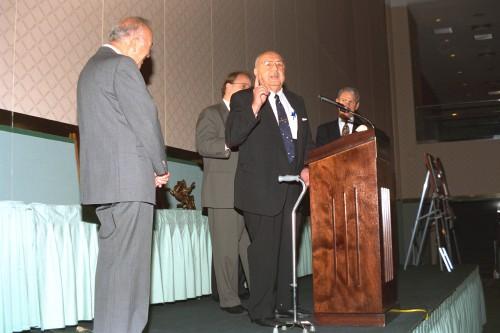 Forum 52 Awards Banquet at the Sheraton Washington Hotel, Washington, D.C., June 5, 1996. VFS photo. CC BY-SA 4.0.