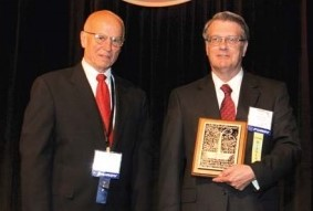 Paul E. Haueter Award for the year 2005 presented to Mr. Tommie L. Wood, Bell Helicopter Textron, Inc.,  at Forum 61 Awards, for his leading role in the development of the tiltrotor including the XV-15, the V-22 and the BA609. Forum 61, June 1-3, 2005, Grapevine, Texas USA